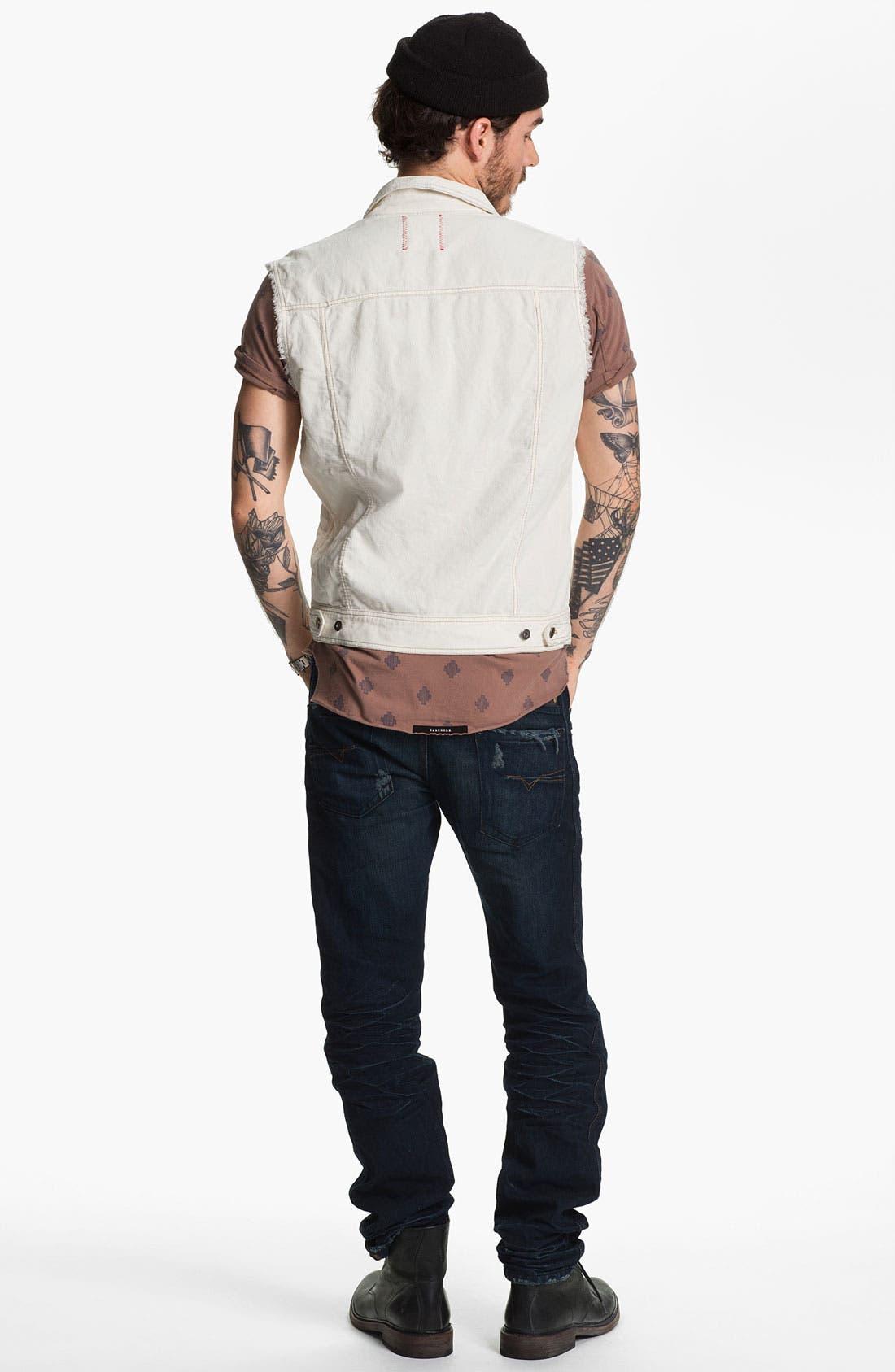 Alternate Image 5  - Zanerobe 'Saris' Print Pocket T-Shirt