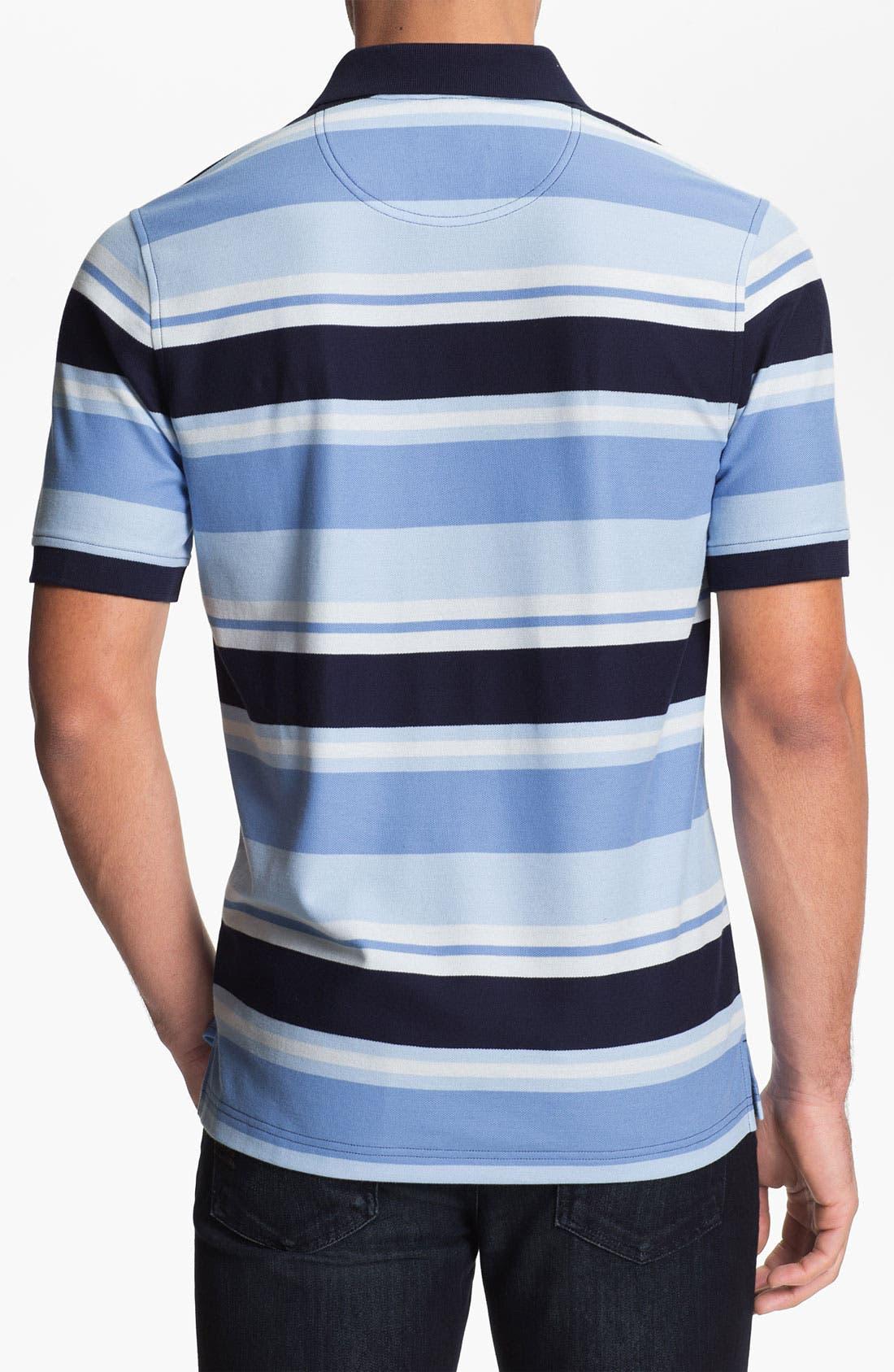 Alternate Image 2  - Nordstrom Stripe Polo