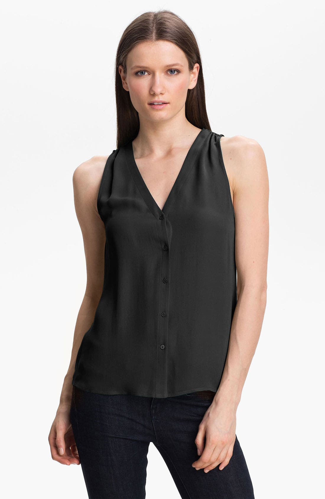 Alternate Image 1 Selected - Joie 'Carissa' Silk Top