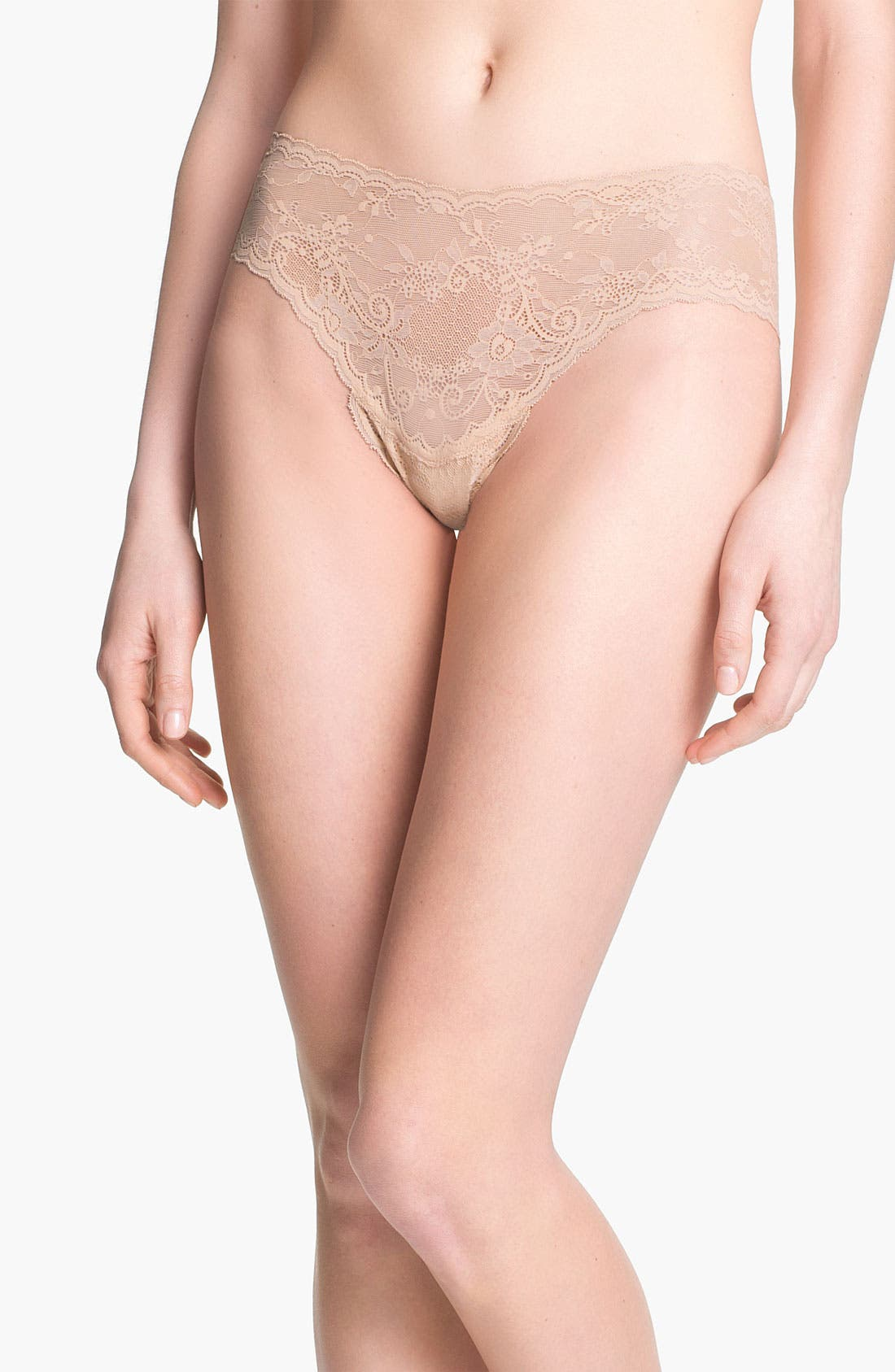 Alternate Image 1 Selected - Cosabella 'Trenta' Low Rise Lace Thong