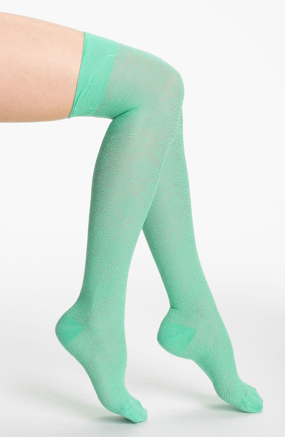 Alternate Image 1 Selected - Nordstrom 'Pattern Play' Over the Knee Socks