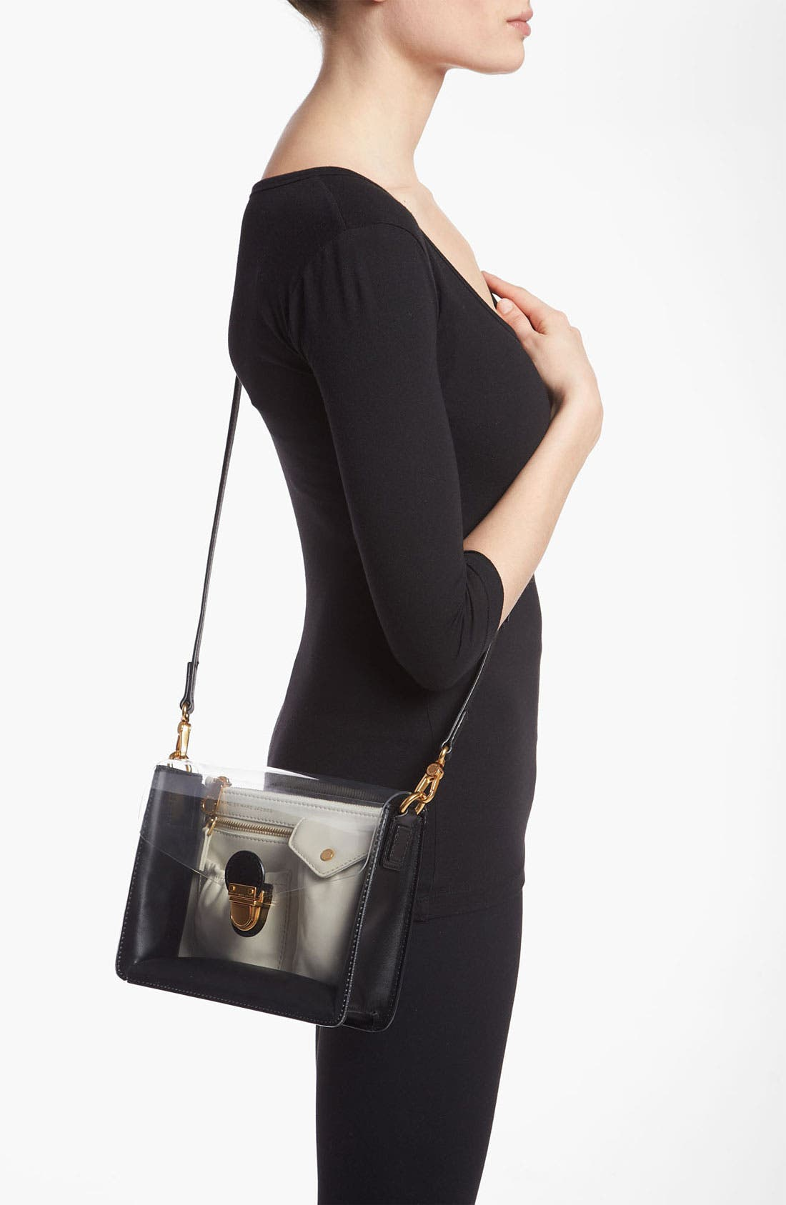 Alternate Image 2  - MARC BY MARC JACOBS 'Clearly Colorblocked' Crossbody Bag