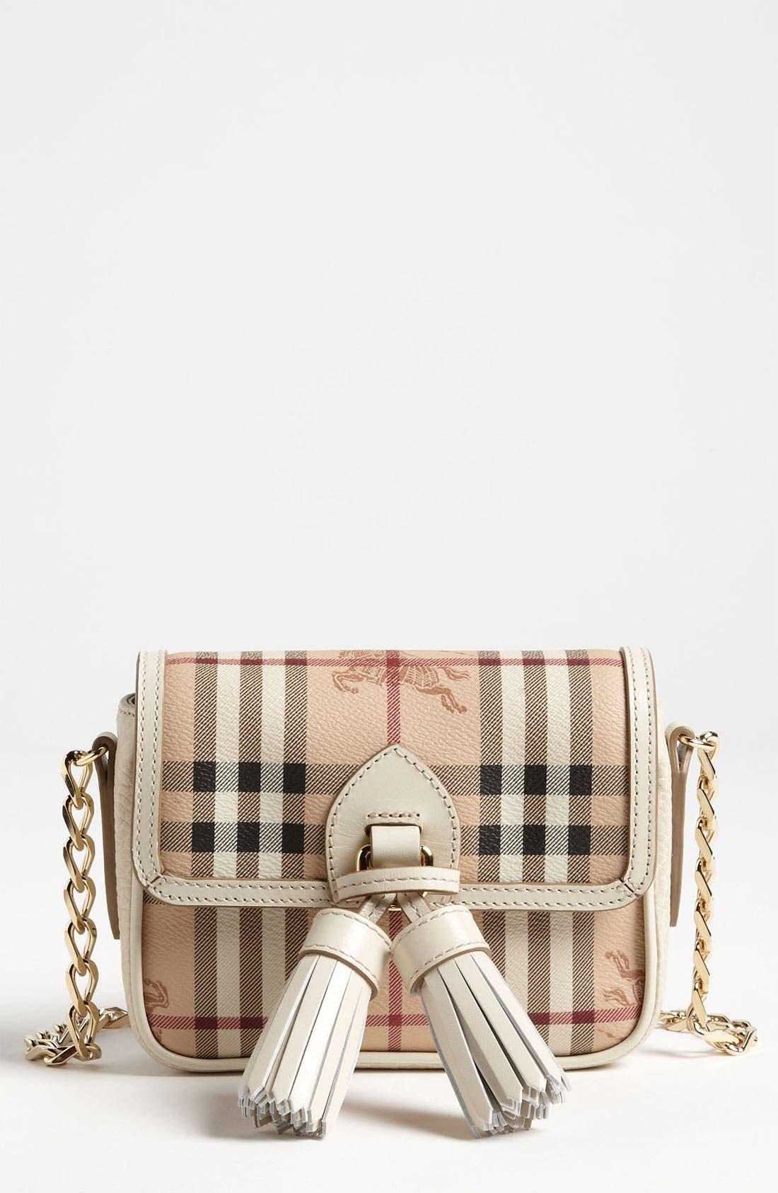 Main Image - Burberry 'Haymarket Color' Crossbody Bag