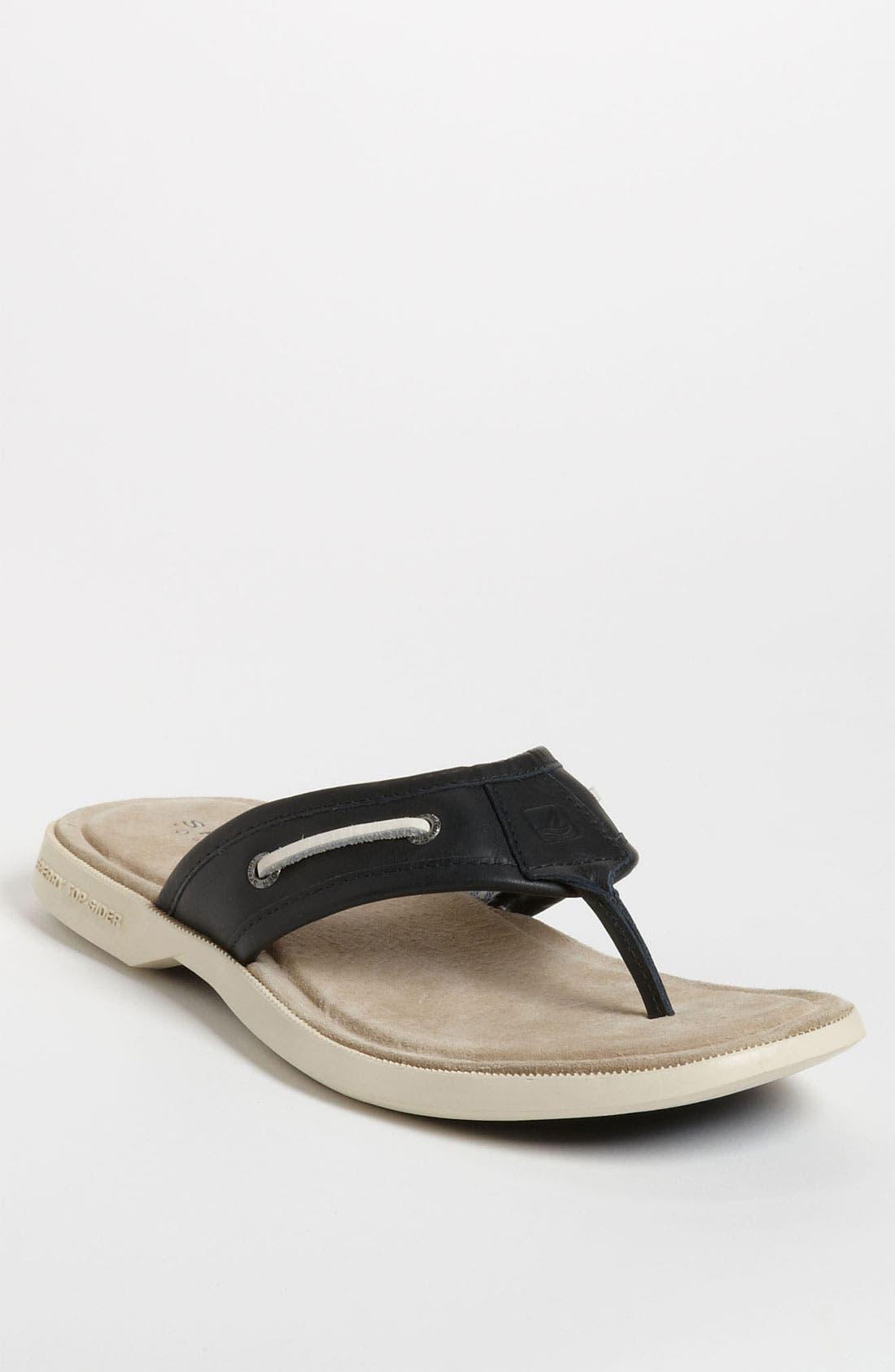 Alternate Image 1 Selected - Sperry Top-Sider® 'Sahara' Leather Sandal