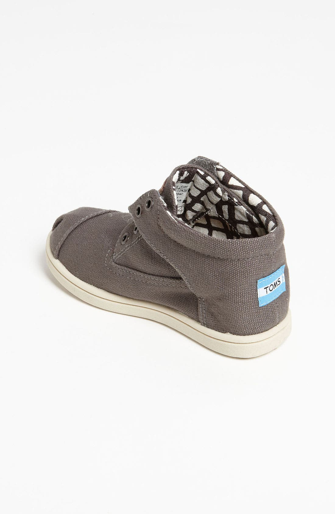 Alternate Image 2  - TOMS 'Botas - Tiny' Canvas Boot (Baby, Walker & Toddler)