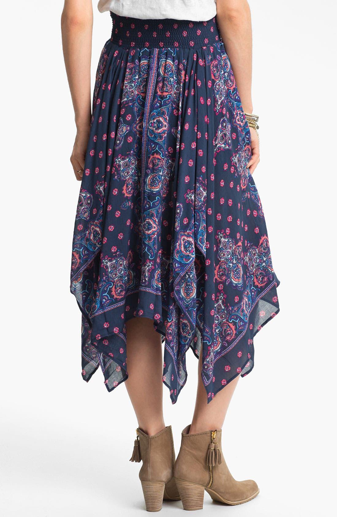 Alternate Image 2  - Free People Bandana Midi Skirt