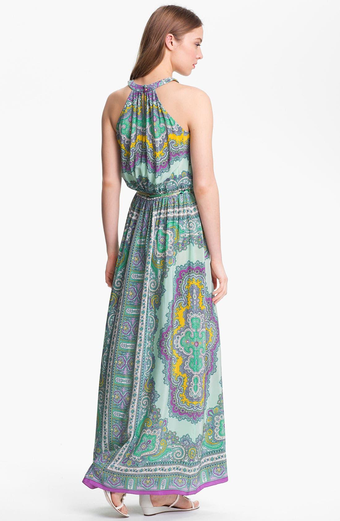Alternate Image 2  - Nanette Lepore 'Beach Lover' Silk Maxi Dress