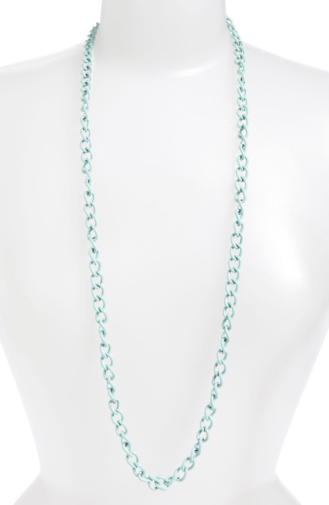 Alternate Image 1 Selected - Stephan & Co. Coated Chain Necklace