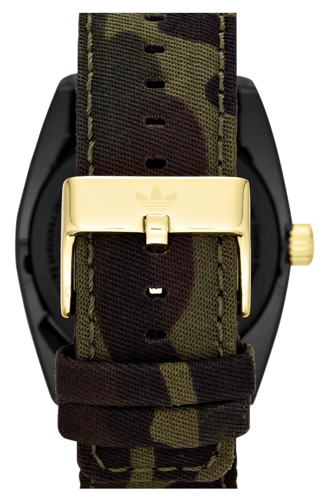 Alternate Image 3  - adidas Originals 'Santiago XL' Camo Strap Watch