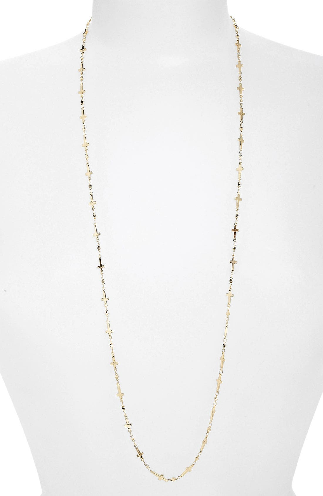 Alternate Image 1 Selected - BP. Mini Cross Layering Necklace