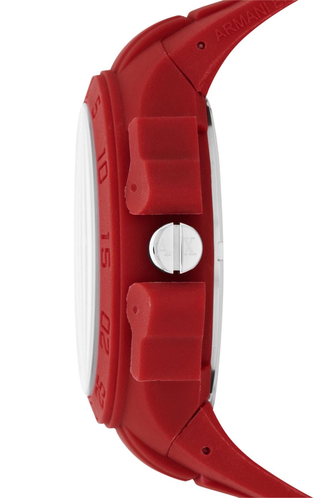Alternate Image 2  - AX Armani Exchange Dual Movement Watch, 47mm