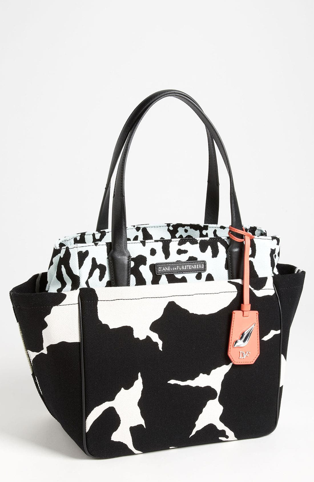 Alternate Image 1 Selected - Diane von Furstenberg 'On The Go' Printed Canvas Tote
