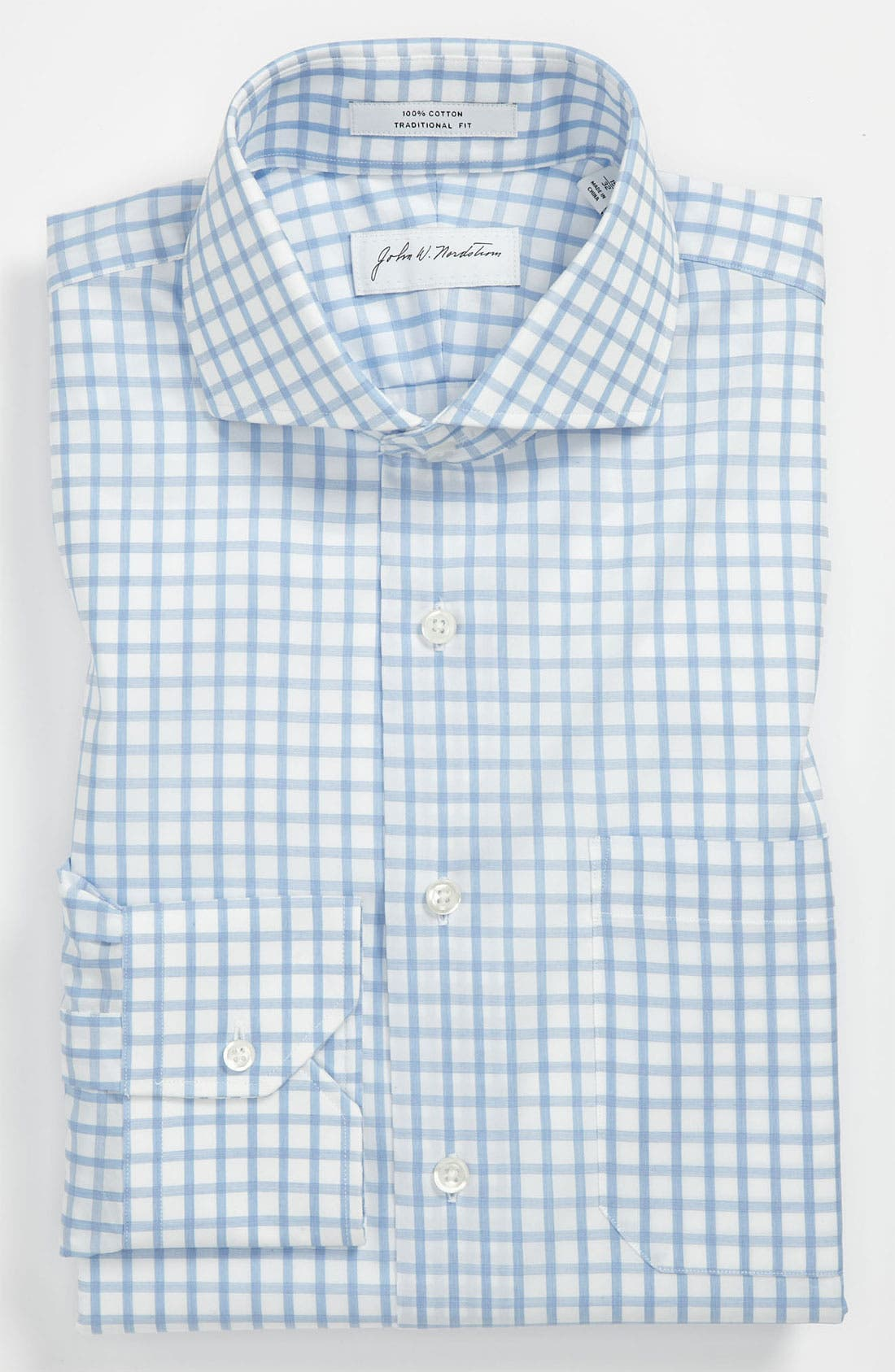 Alternate Image 1 Selected - John W. Nordstrom Traditional Fit Dress Shirt