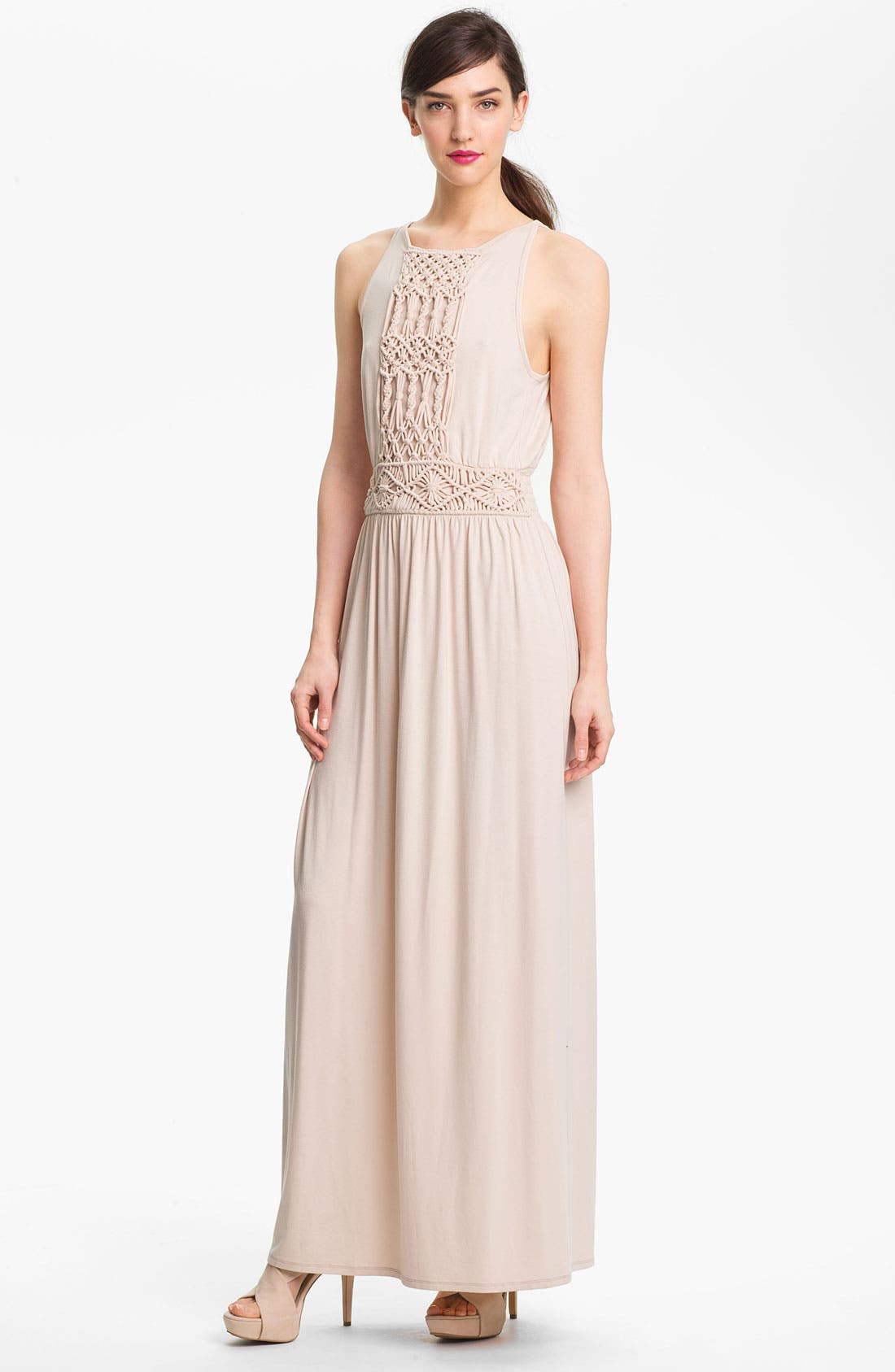 Alternate Image 1 Selected - Trina Turk 'Deidi' Stretch Maxi Dress