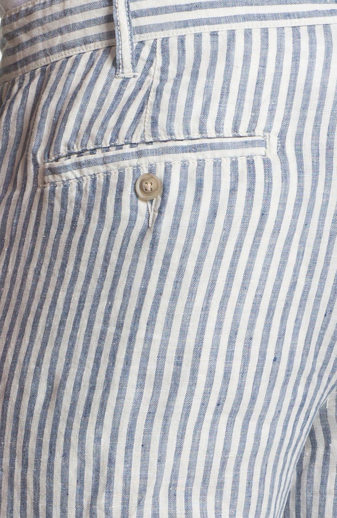 Alternate Image 3  - 1901 'Eastport' Linen Shorts