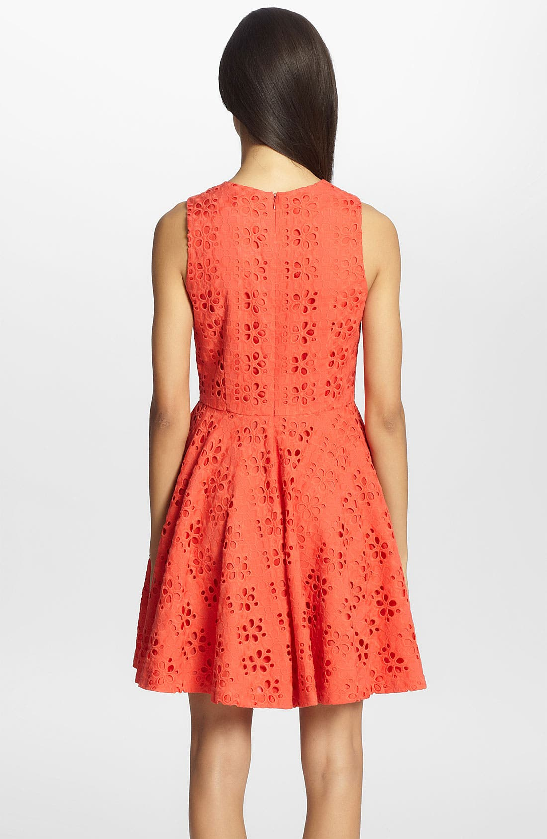 Alternate Image 2  - Cynthia Steffe 'Hailey' Eyelet Fit & Flare Dress