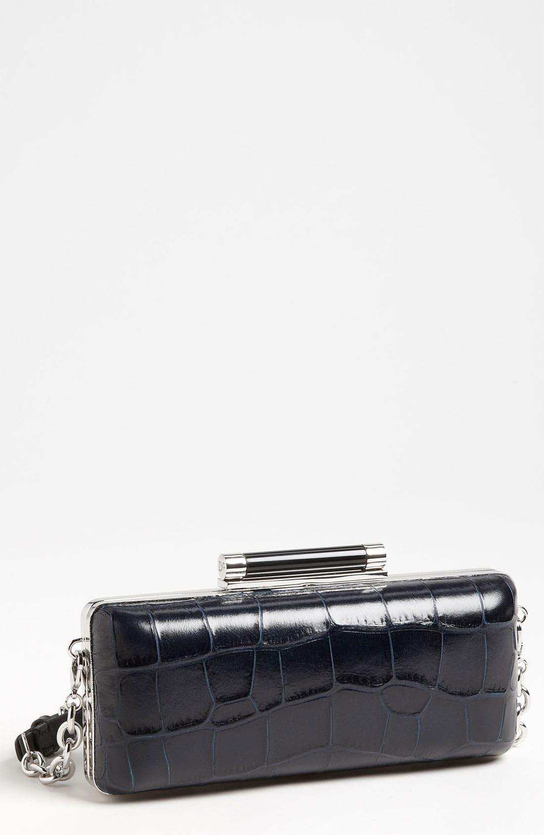 Main Image - Diane von Furstenberg 'Tonda' Embossed Clutch