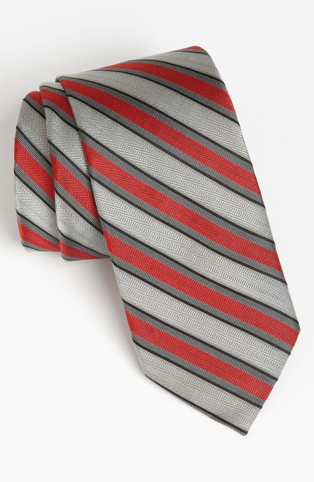Alternate Image 1 Selected - Calvin Klein Woven Tie