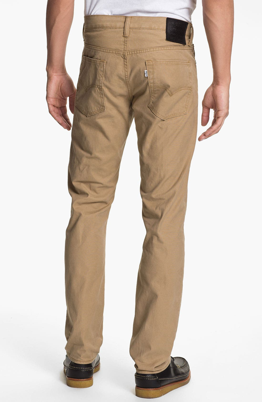 Alternate Image 2  - Levi's® '513™' Slim Straight Leg Canvas Pants