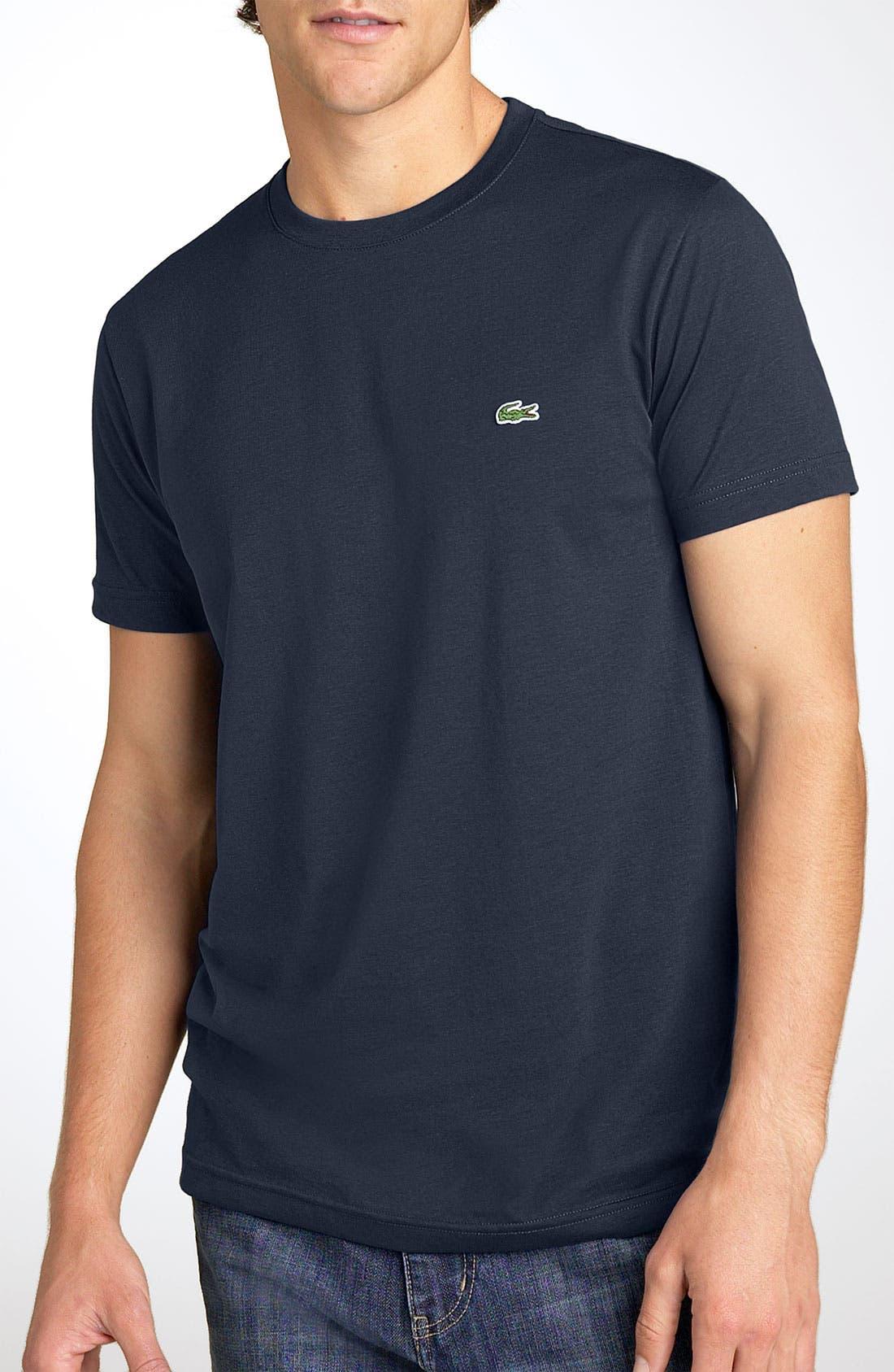 Main Image - Lacoste Pima Cotton T-Shirt (Big)