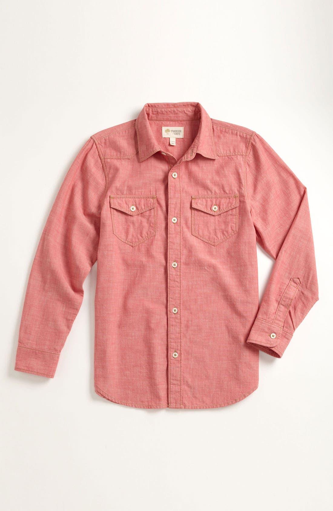 Alternate Image 1 Selected - Tucker + Tate 'Benson' Chambray Shirt (Little Boys)