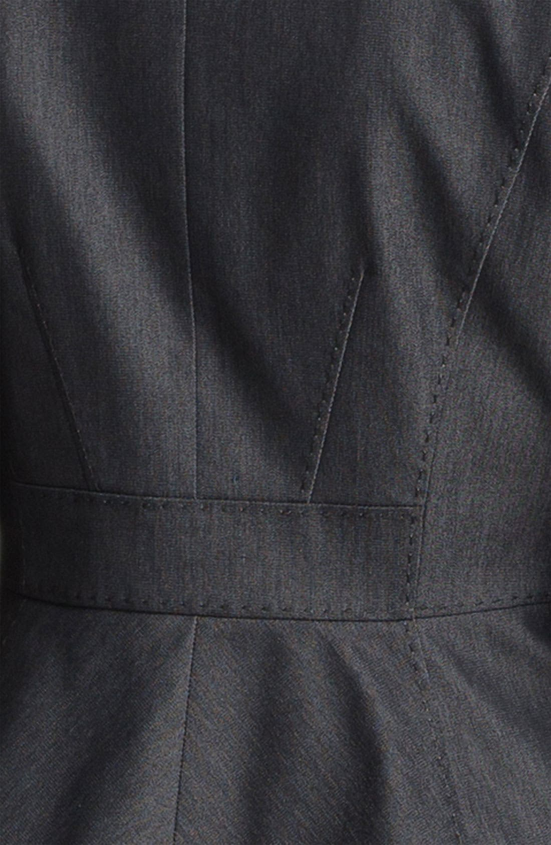 Alternate Image 5  - Halogen® Black Denim Suit Jacket