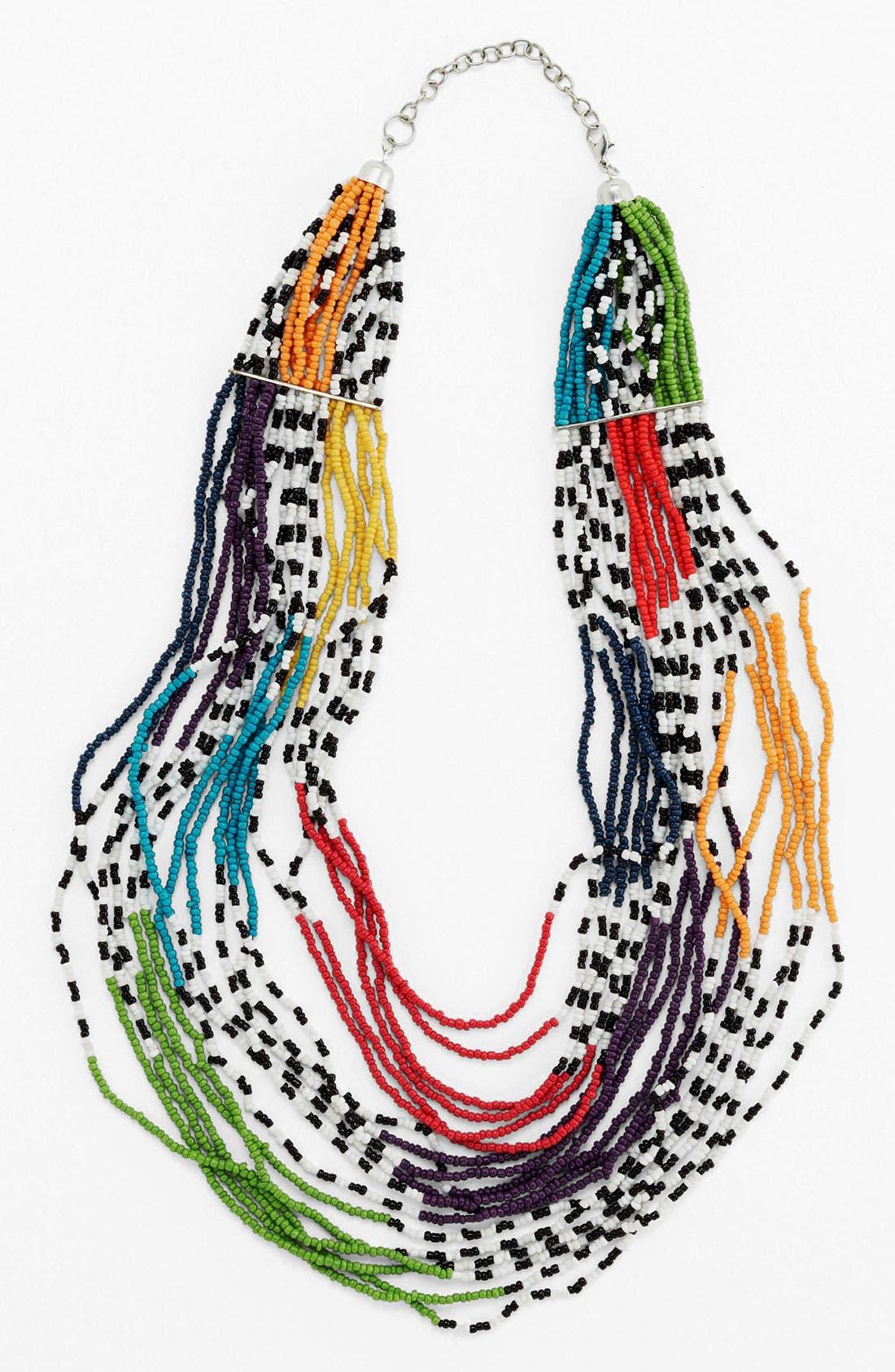 Alternate Image 1 Selected - Spring Street Multistrand Necklace