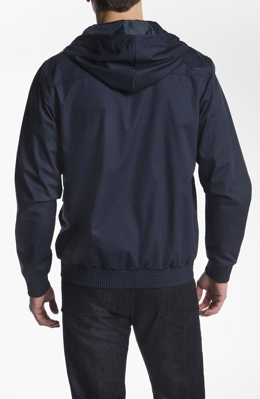 Alternate Image 2  - RVCA 'Sil II' Hooded Jacket