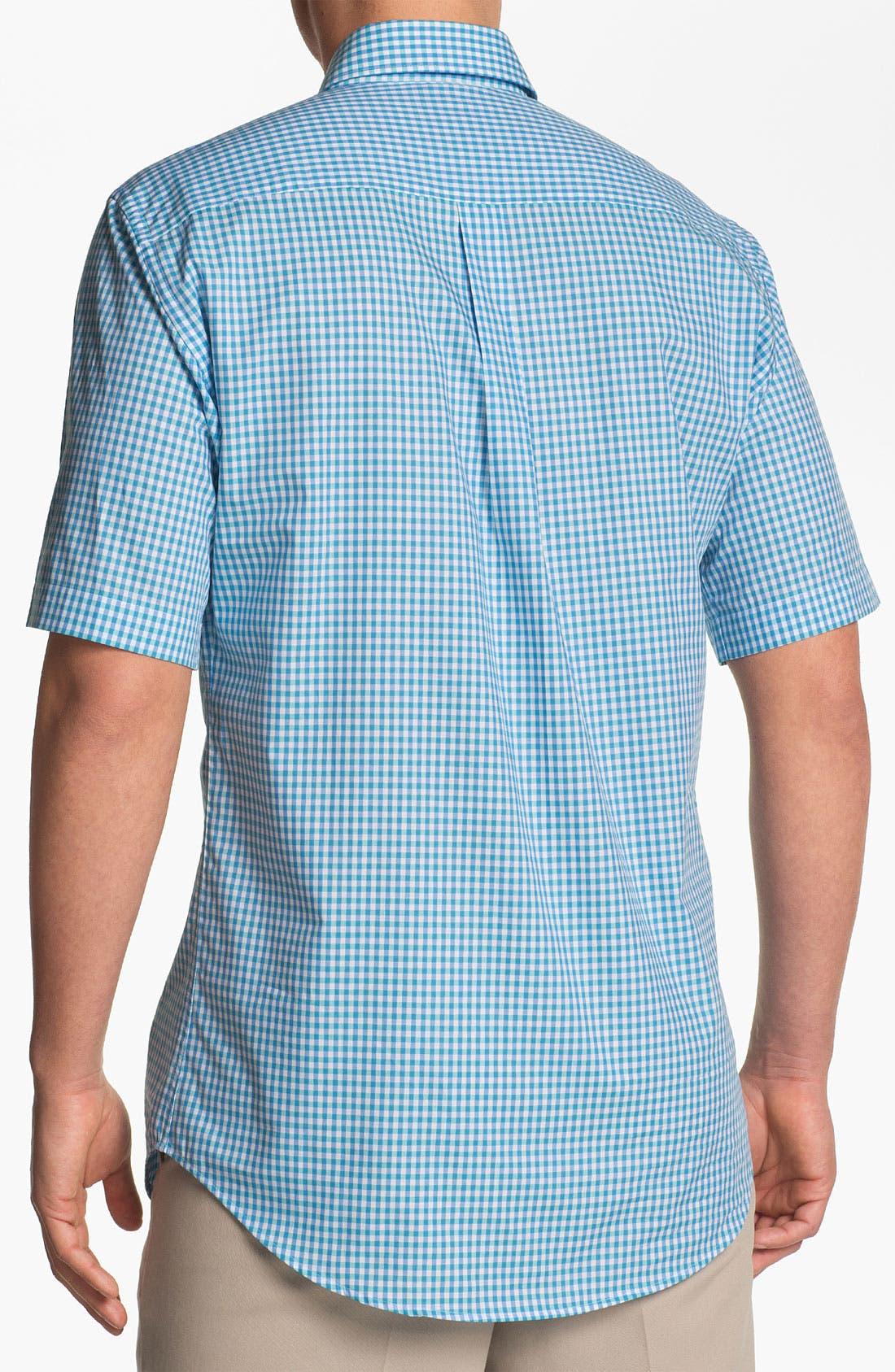 Alternate Image 2  - Peter Millar Regular Fit Short Sleeve Sport Shirt
