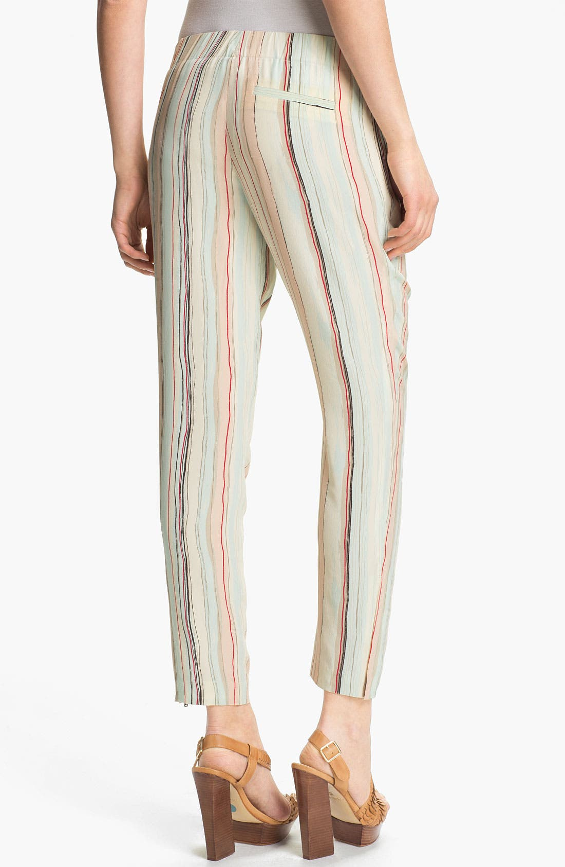 Alternate Image 2  - Rachel Zoe 'Mona' Multi Stripe Silk Pants