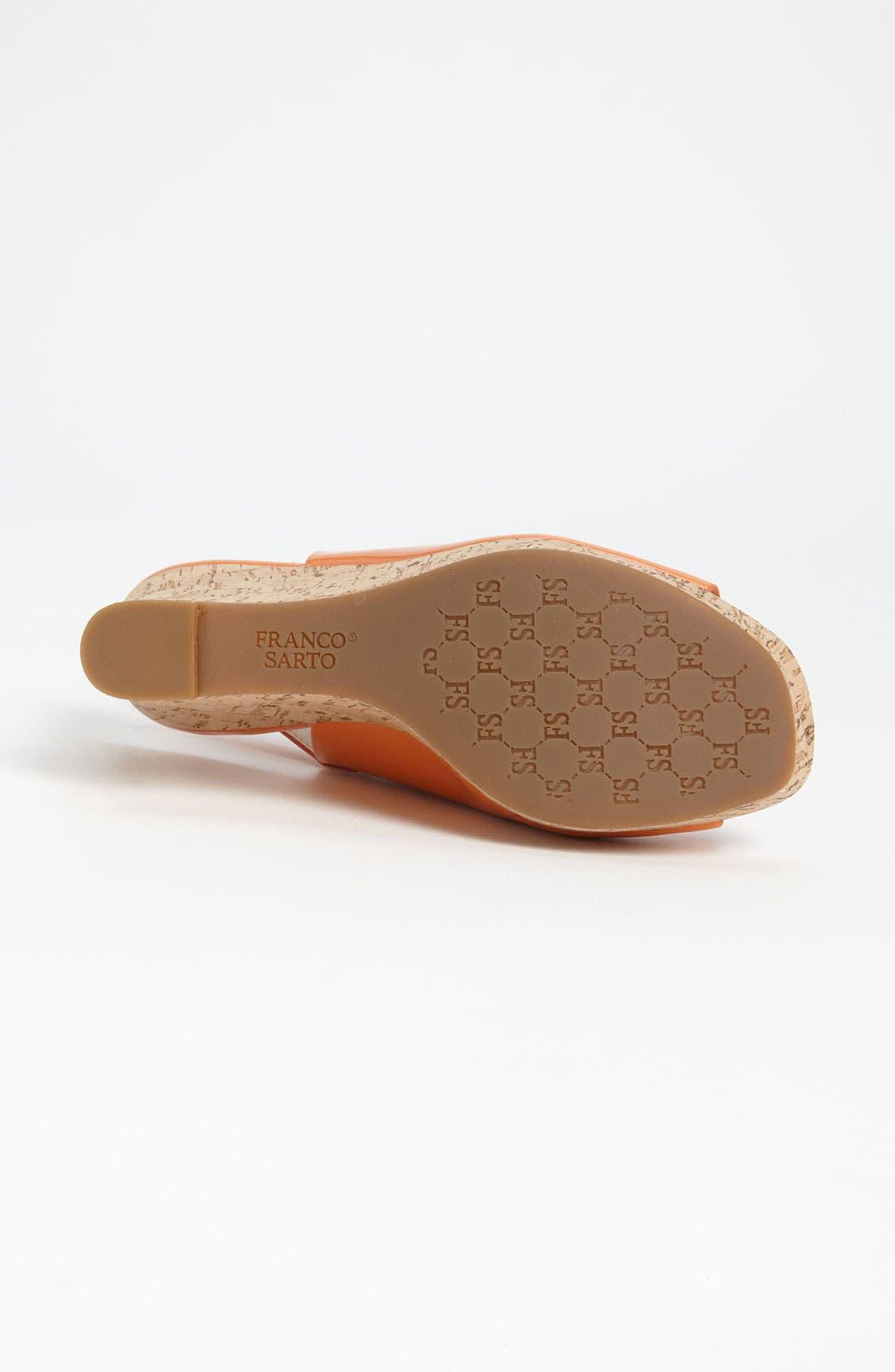 Alternate Image 4  - Franco Sarto 'Colley' Wedge Sandal