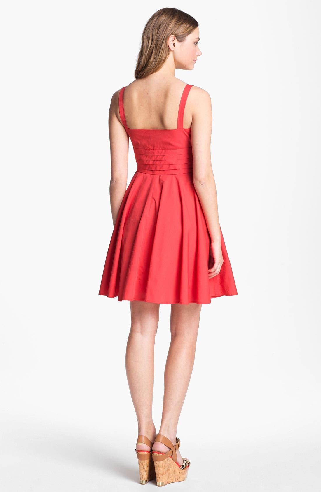 Alternate Image 2  - BB Dakota 'Maida' Cotton Fit & Flare Dress
