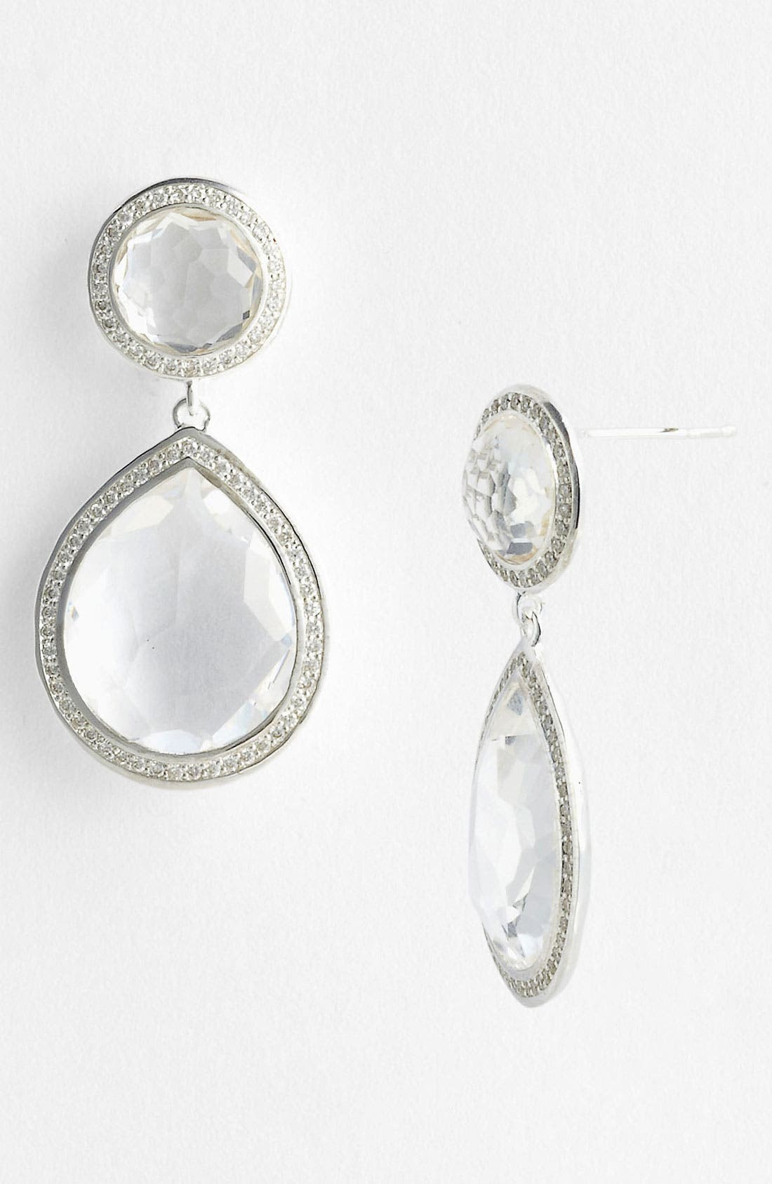 Alternate Image 1 Selected - Ippolita 'Stella' Two Stone Drop Earrings