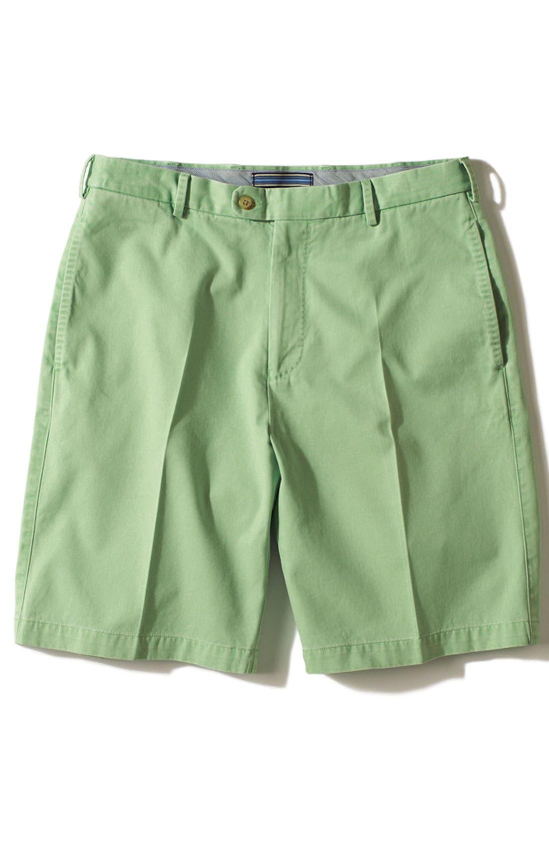 Alternate Image 4  - Peter Millar Washed Twill Shorts