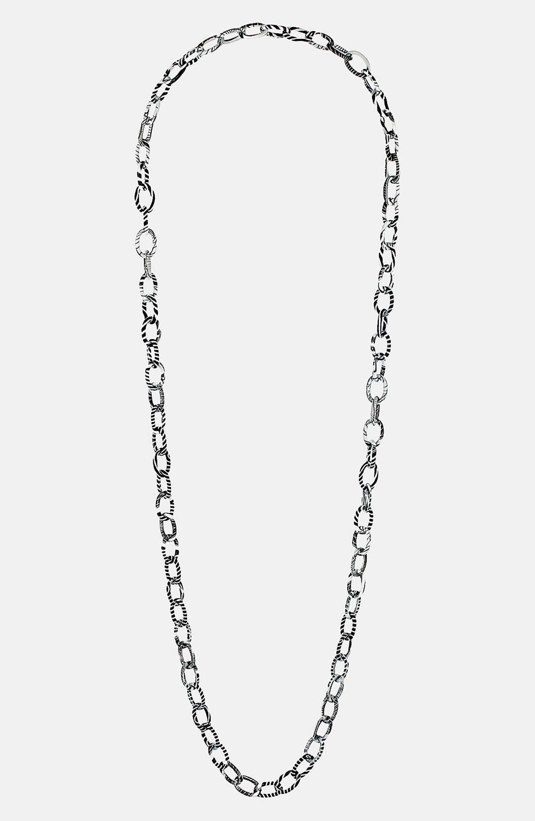 Alternate Image 1 Selected - Topshop 'Zebra' Chain Necklace