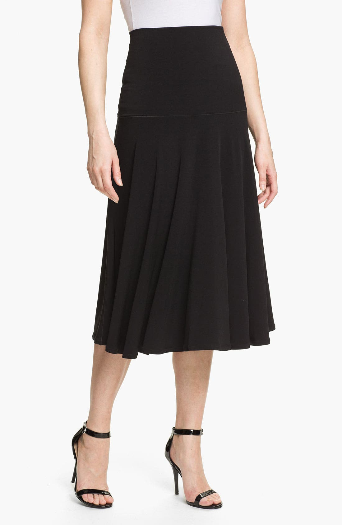 Alternate Image 1 Selected - Eva Varro Paneled Midi Skirt