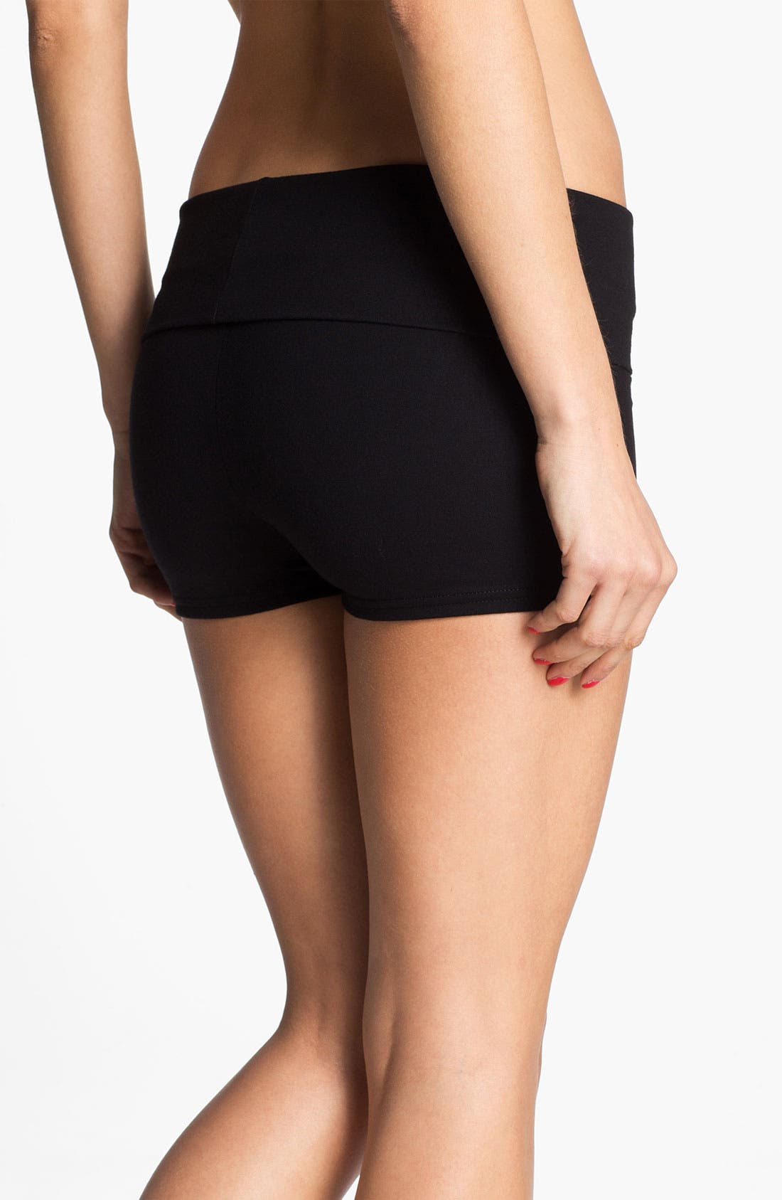 Alternate Image 2  - BP. Undercover Foldover Lounge Shorts (Juniors)