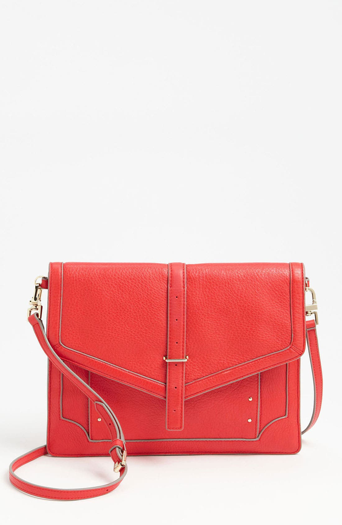 Alternate Image 1 Selected - Tory Burch Leather Crossbody Bag