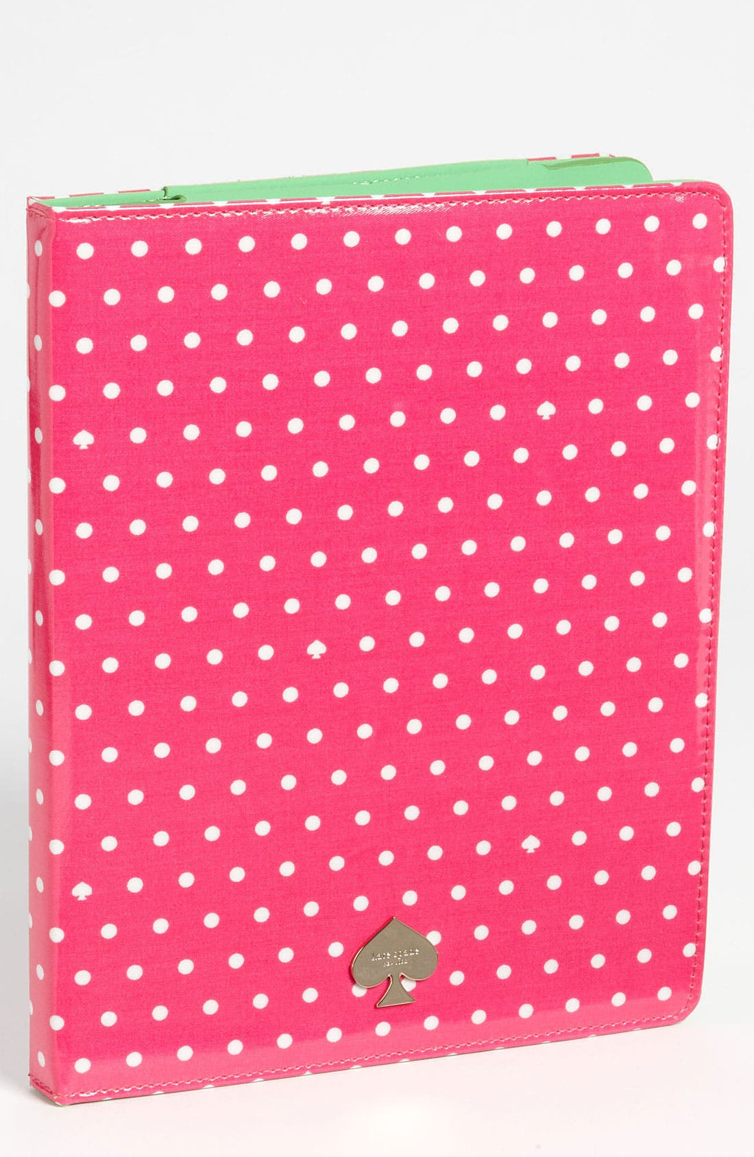 Alternate Image 1 Selected - kate spade new york 'dots and spades' iPad folio
