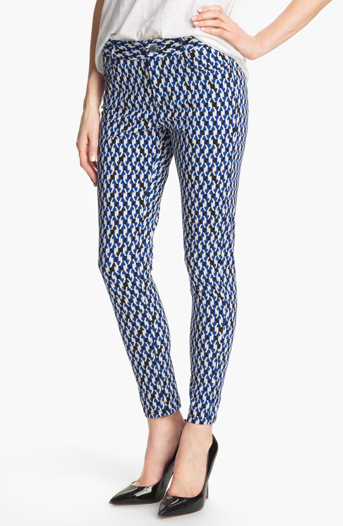 Alternate Image 1 Selected - DKNYC Skinny Ankle Jeans