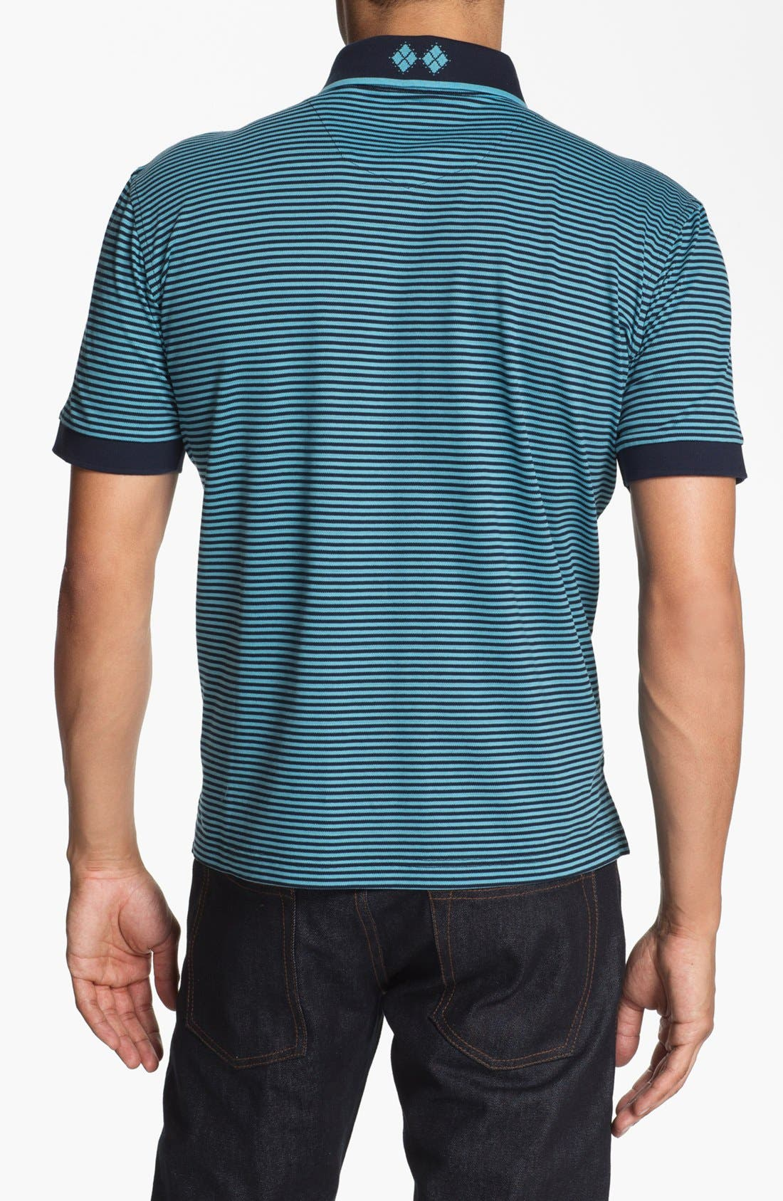 Alternate Image 2  - Robert Graham 'Barcelo' Knit Polo