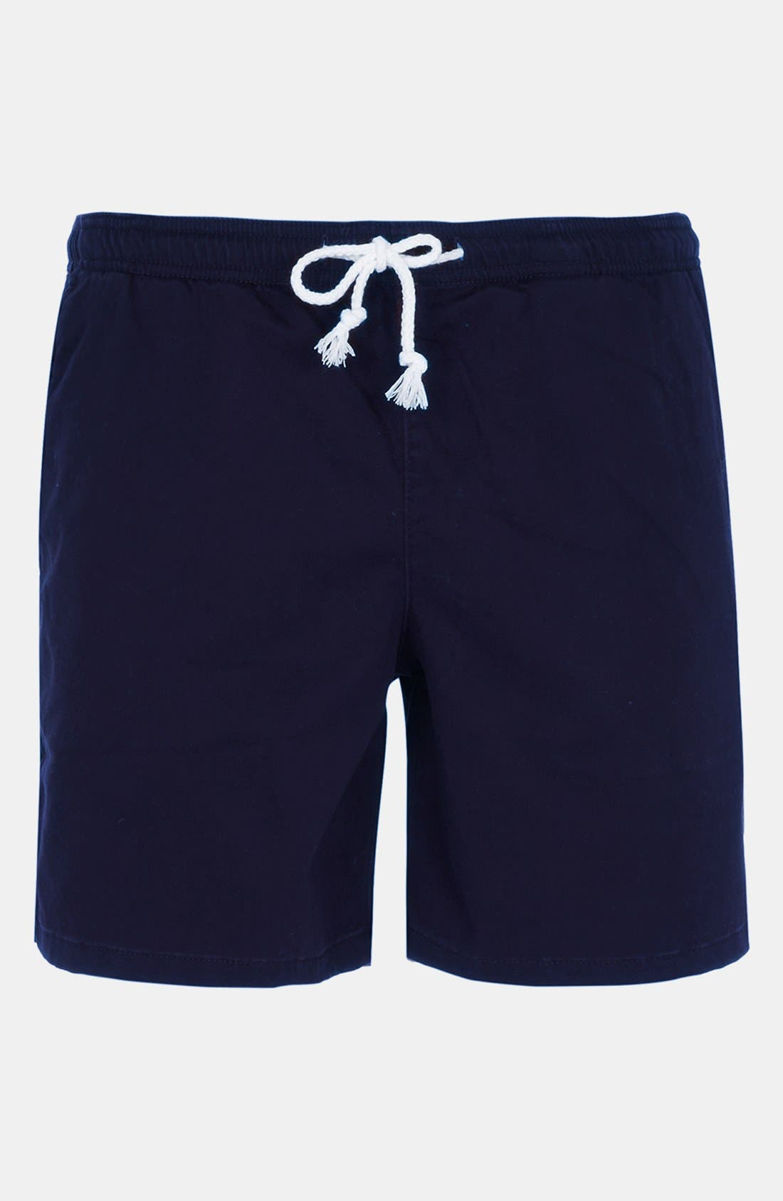 Alternate Image 1 Selected - Topman Sophomore Rugby Shorts