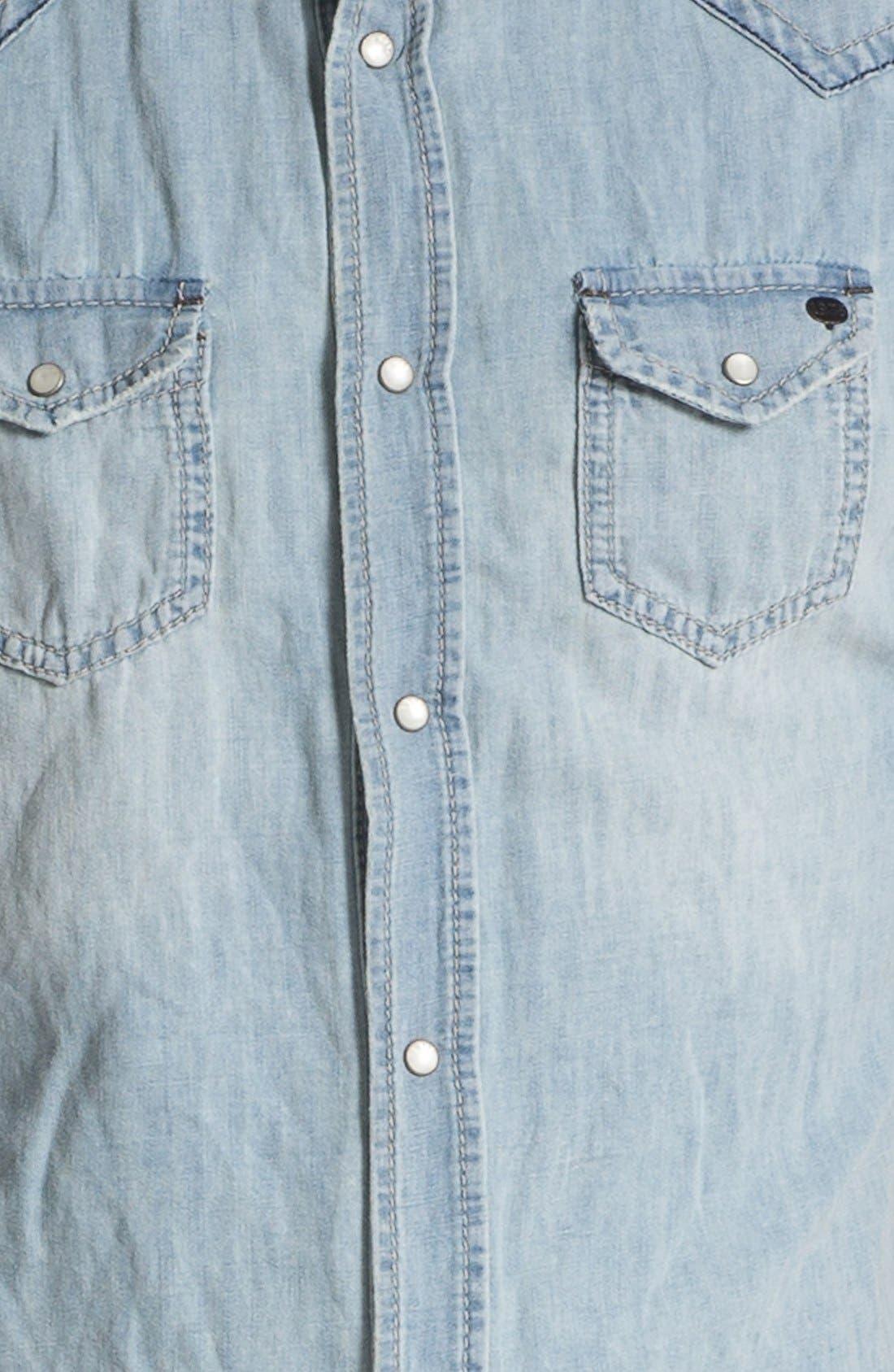 Alternate Image 3  - DIESEL® 'Sonora' Western Denim Shirt