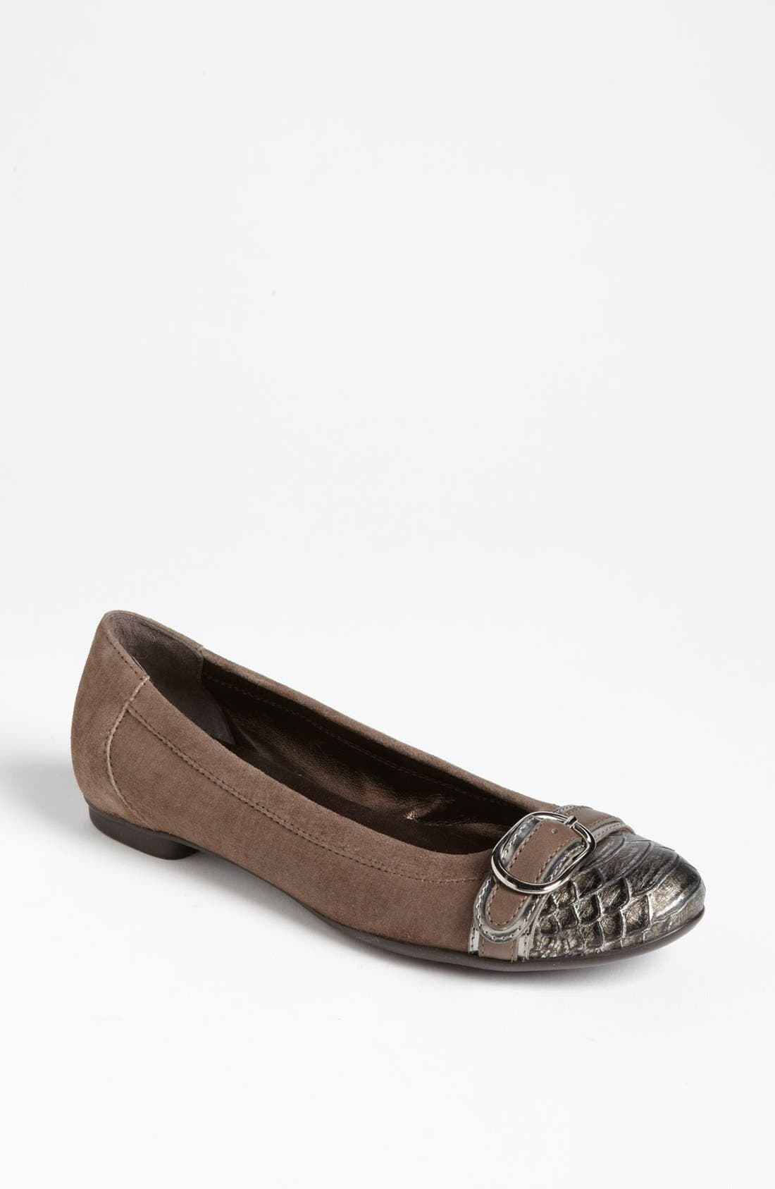 Alternate Image 1 Selected - Attilio Giusti Leombruni Buckle Ballet Flat