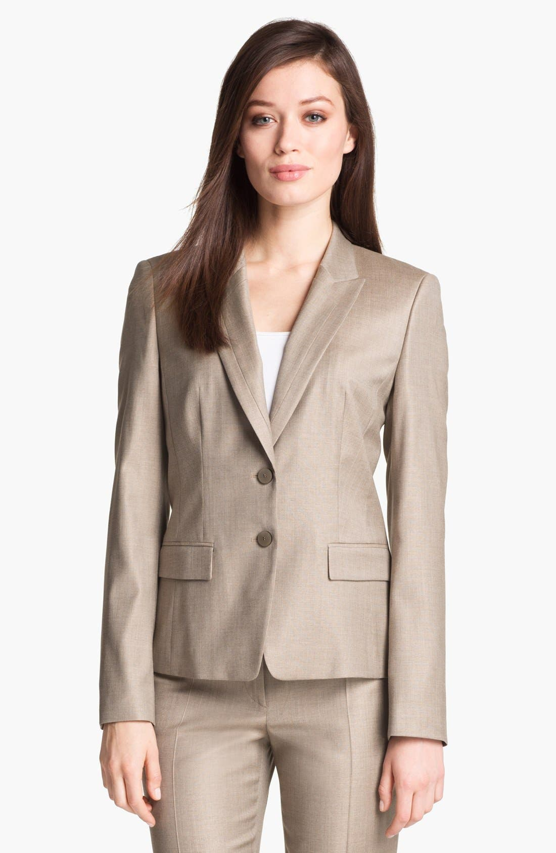 Alternate Image 1 Selected - BOSS Black 'Jaellesa' Jacket