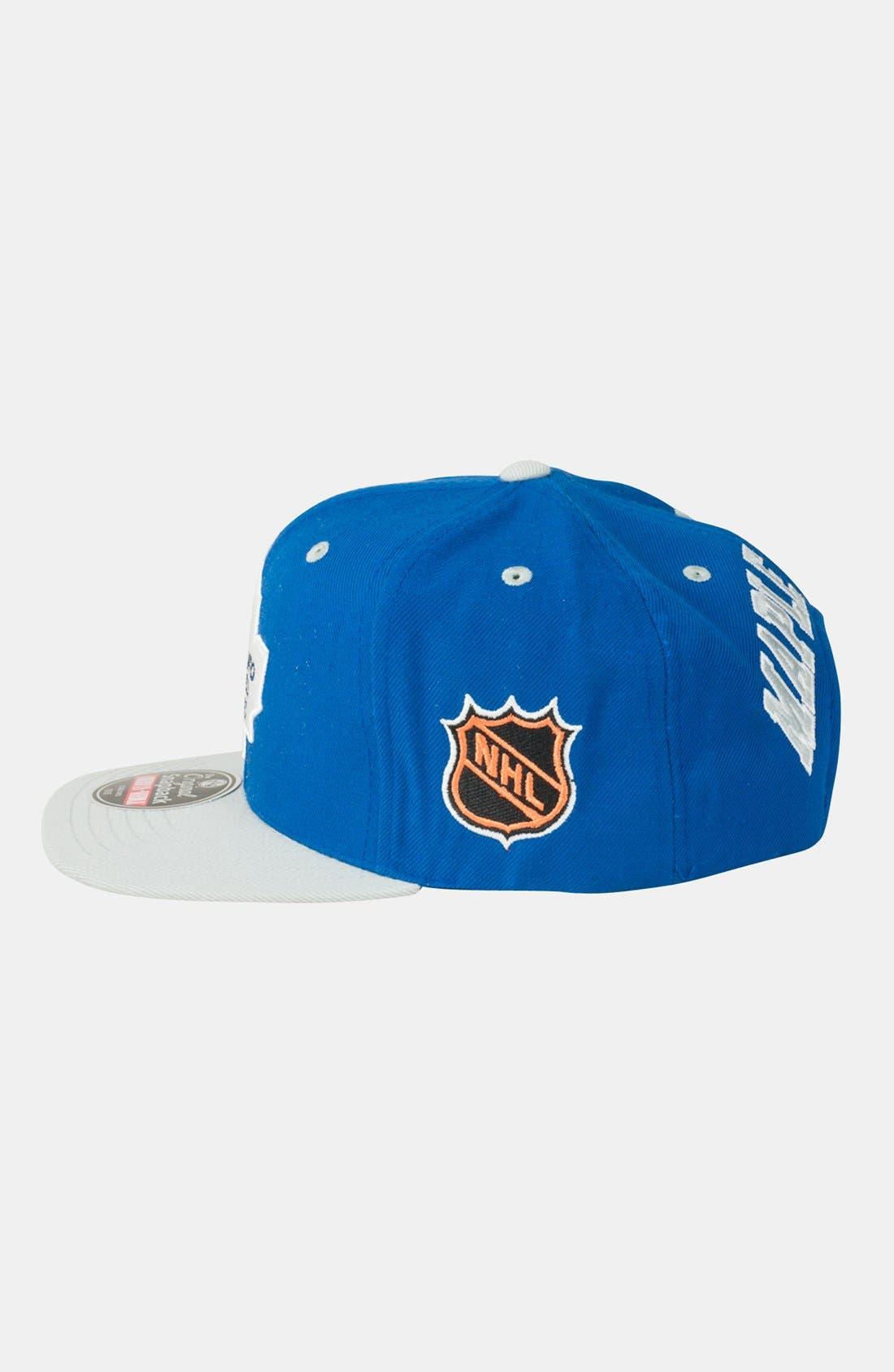 Alternate Image 3  - American Needle 'Toronto Maple Leafs - Blockhead' Snapback Hockey Cap