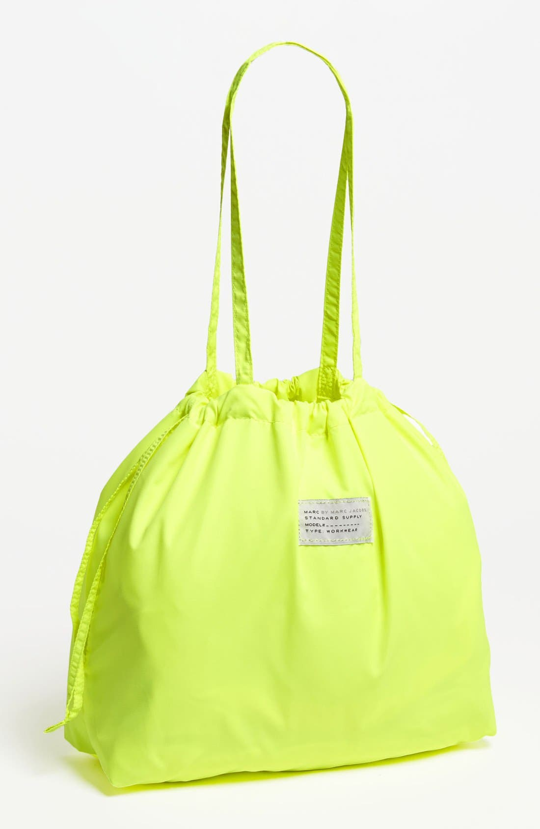 Alternate Image 1 Selected - MARC BY MARC JACOBS 'Spot - Solid' Drawstring Tote