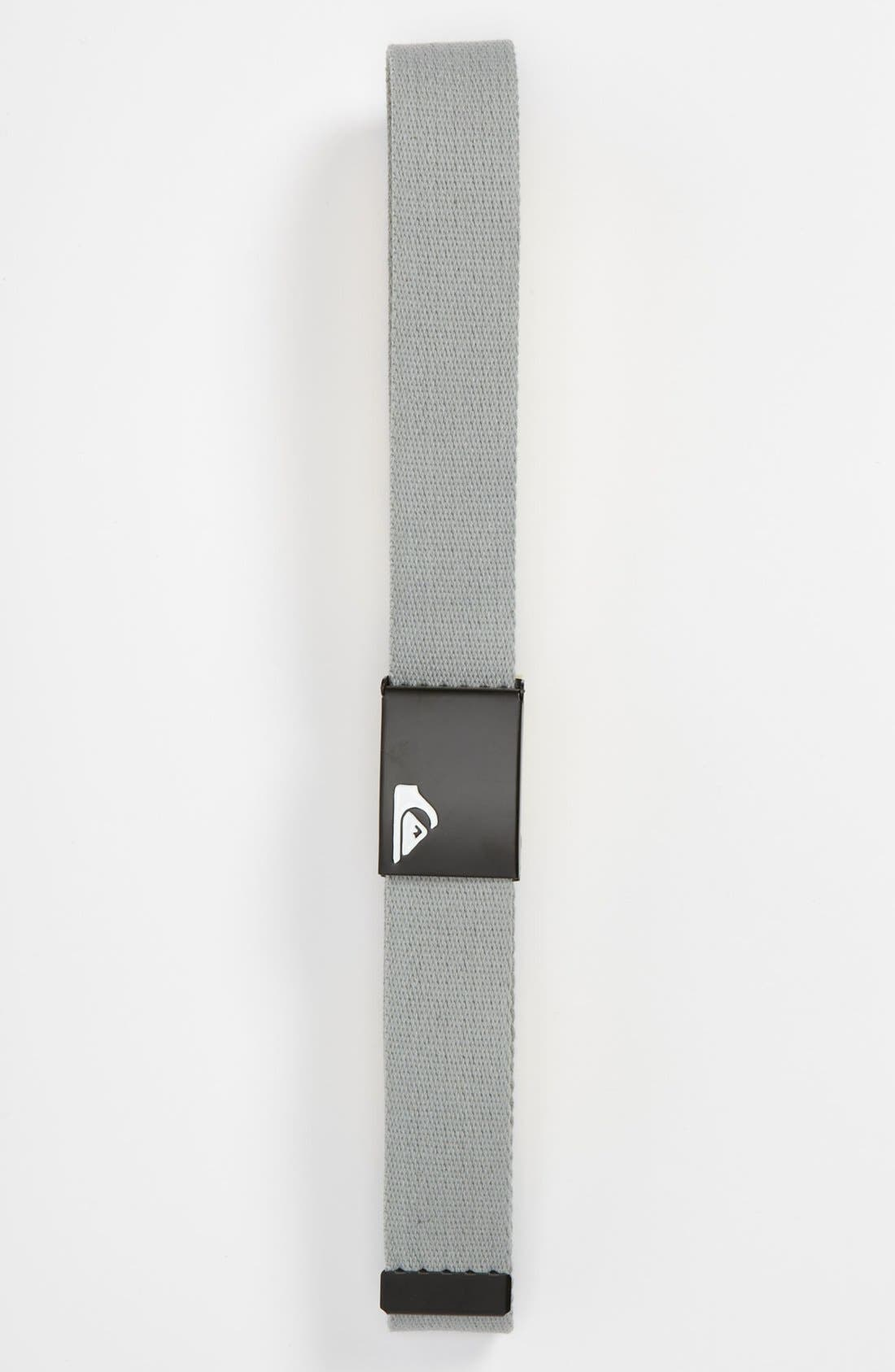 Alternate Image 1 Selected - Quiksilver 'The Jam' Belt (Big Boys)