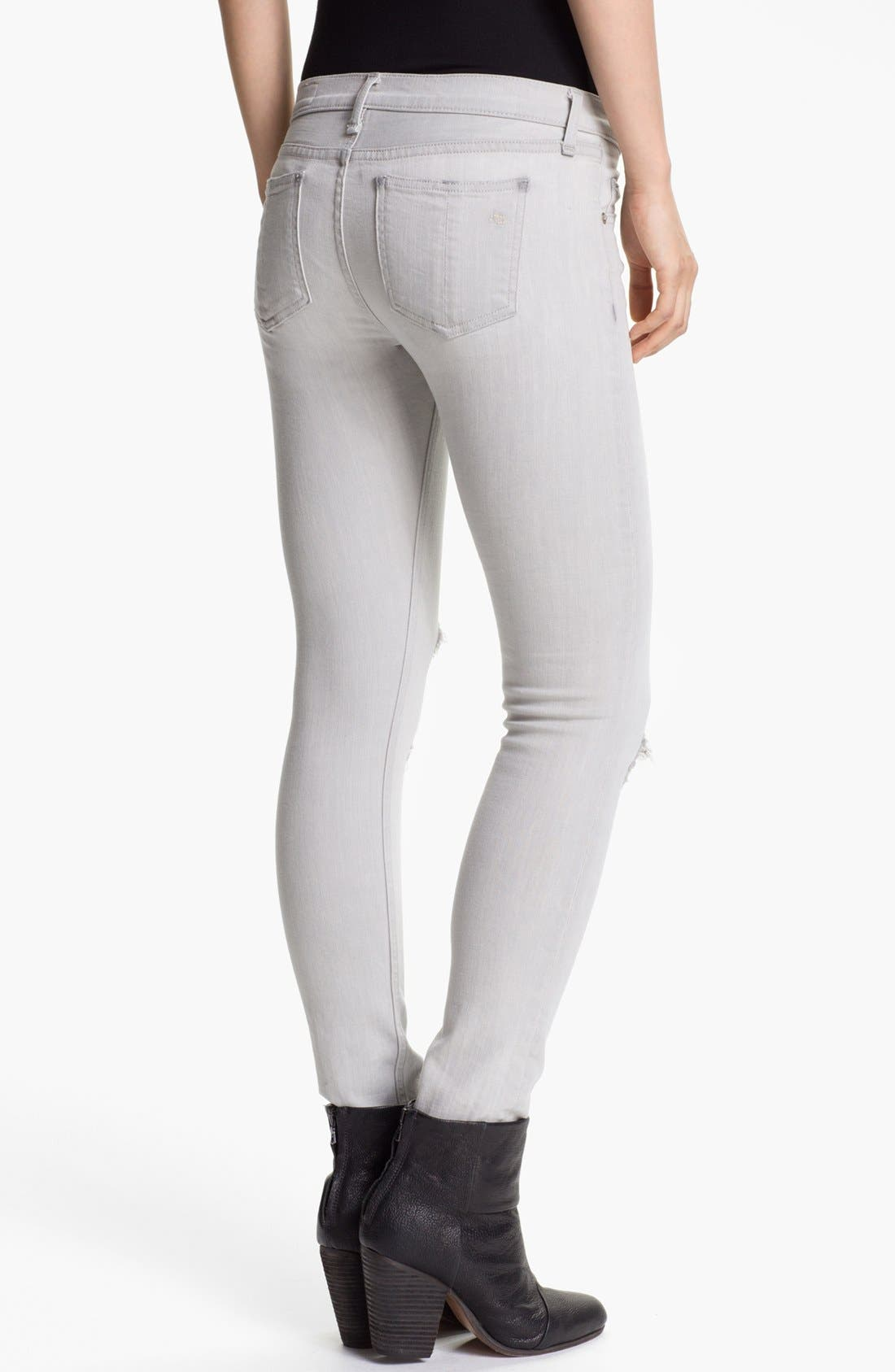 Alternate Image 2  - rag & bone/JEAN 'The Skinny' Stretch Jeans (Surrey)