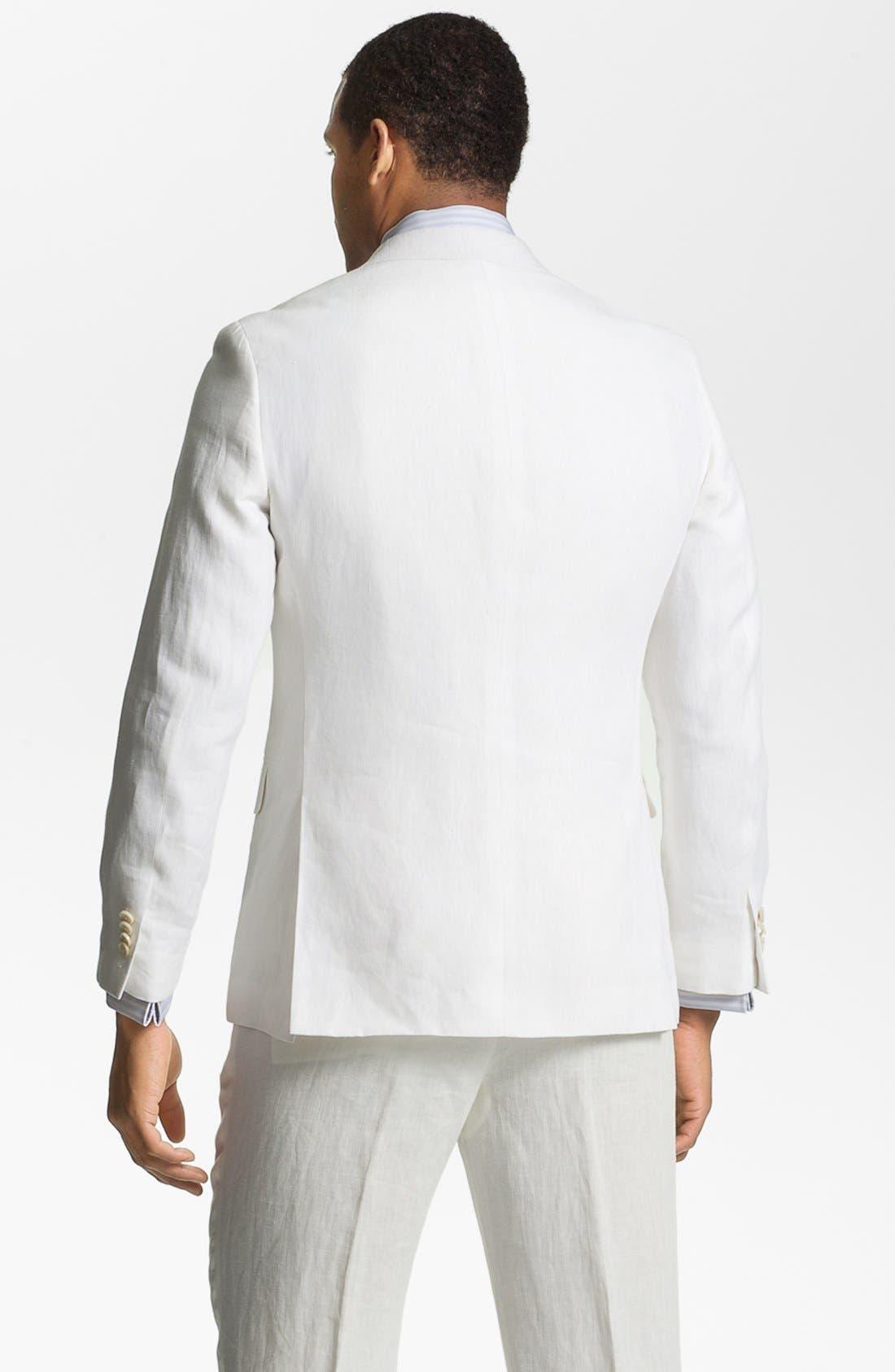 Alternate Image 2  - John W. Nordstrom® Linen Sportcoat